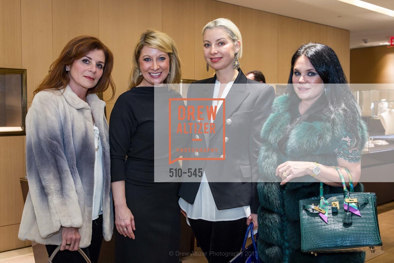 Farah Makras, Jennifer Mancuso, Sonya Molodetskaya, Rada Katz, Bulgari Presents B.Cocktail, Bulgari. 200 Stockton Street, November 17th, 2015