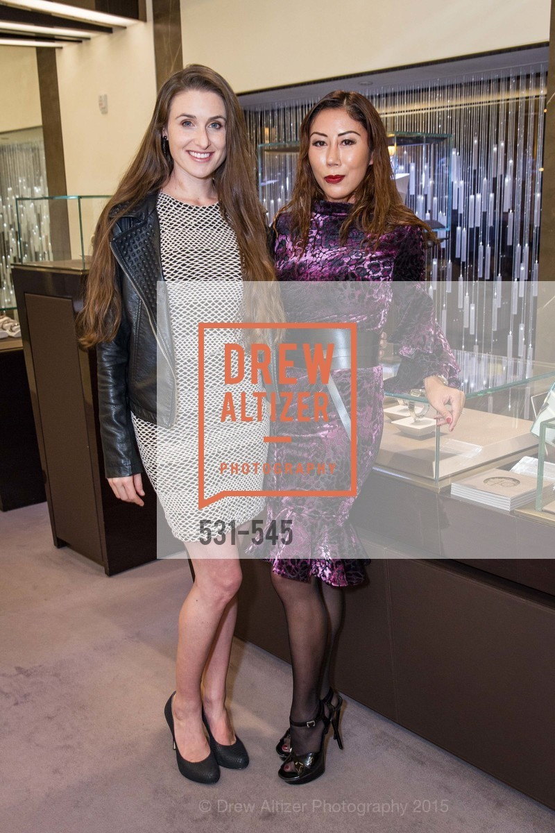 Denelle Shemesh, Rumiko McCarthy, Bulgari Presents B.Cocktail, Bulgari. 200 Stockton Street, November 17th, 2015,Drew Altizer, Drew Altizer Photography, full-service agency, private events, San Francisco photographer, photographer california