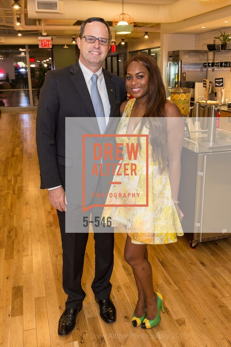 Justin Bank, Vanessa Jean-Baptiste, San Francisco Ballet ENCORE! Season Preview Party, WeWork. 535 Mission Street, 14th Floor, November 17th, 2015