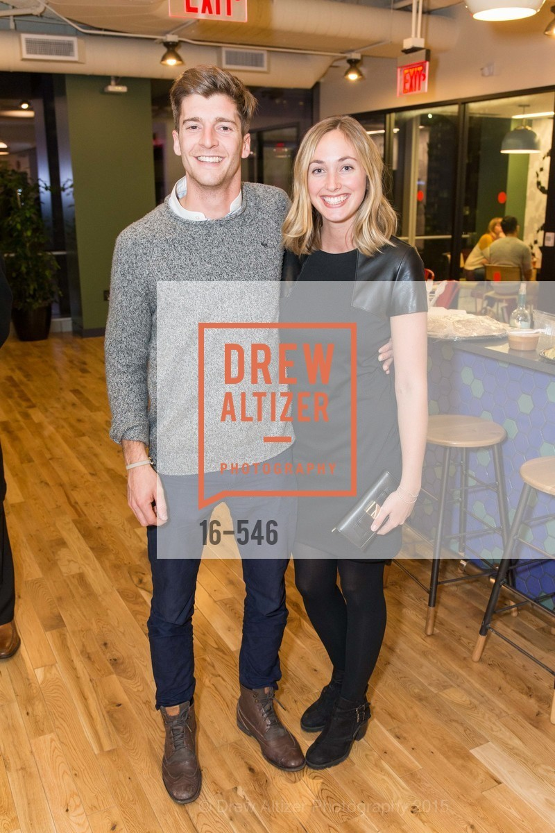 Thomas Choffel, Grace Hubert, San Francisco Ballet ENCORE! Season Preview Party, WeWork. 535 Mission Street, 14th Floor, November 17th, 2015,Drew Altizer, Drew Altizer Photography, full-service agency, private events, San Francisco photographer, photographer california