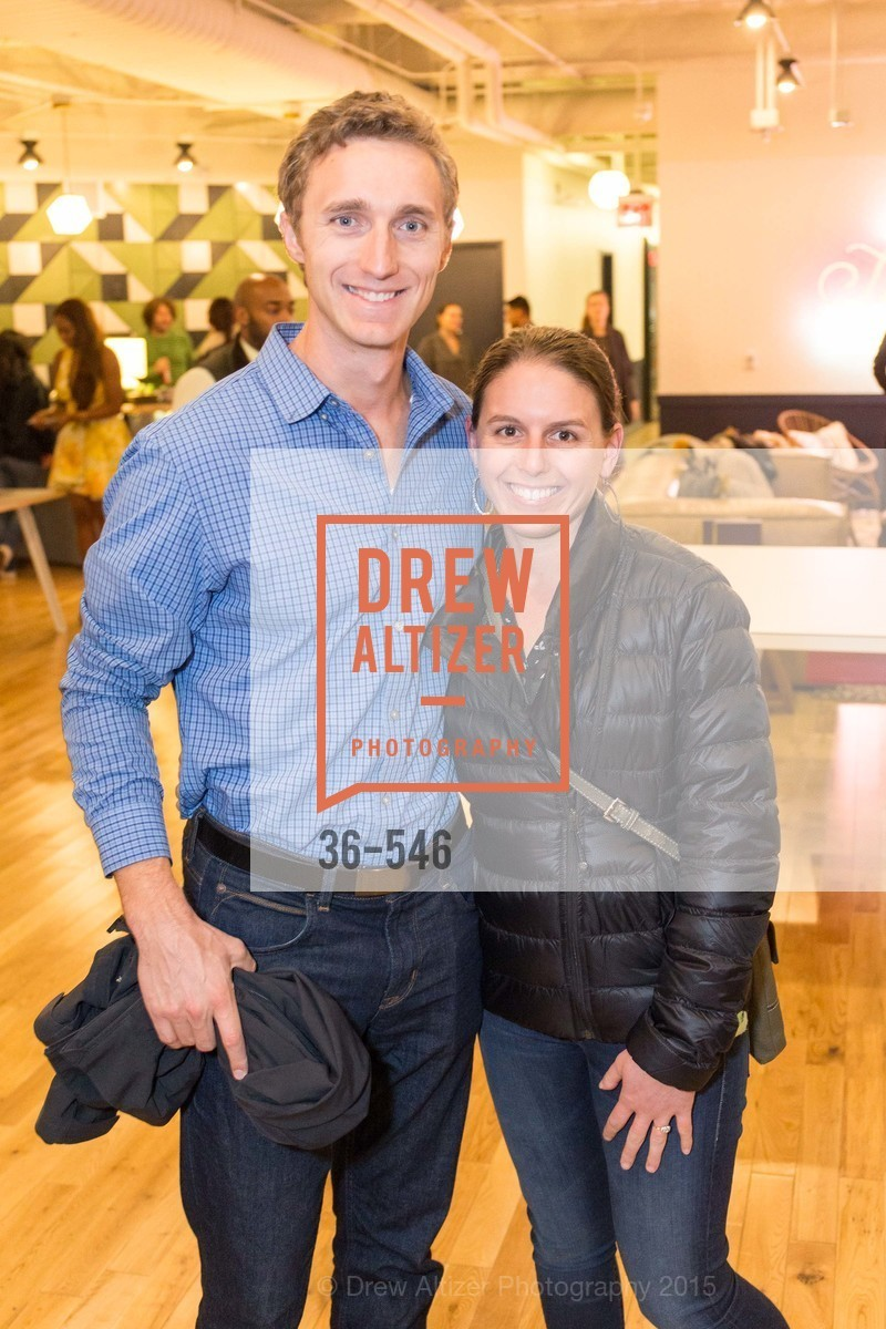 Travis Breznak, Nicole Breznak, San Francisco Ballet ENCORE! Season Preview Party, WeWork. 535 Mission Street, 14th Floor, November 17th, 2015,Drew Altizer, Drew Altizer Photography, full-service agency, private events, San Francisco photographer, photographer california