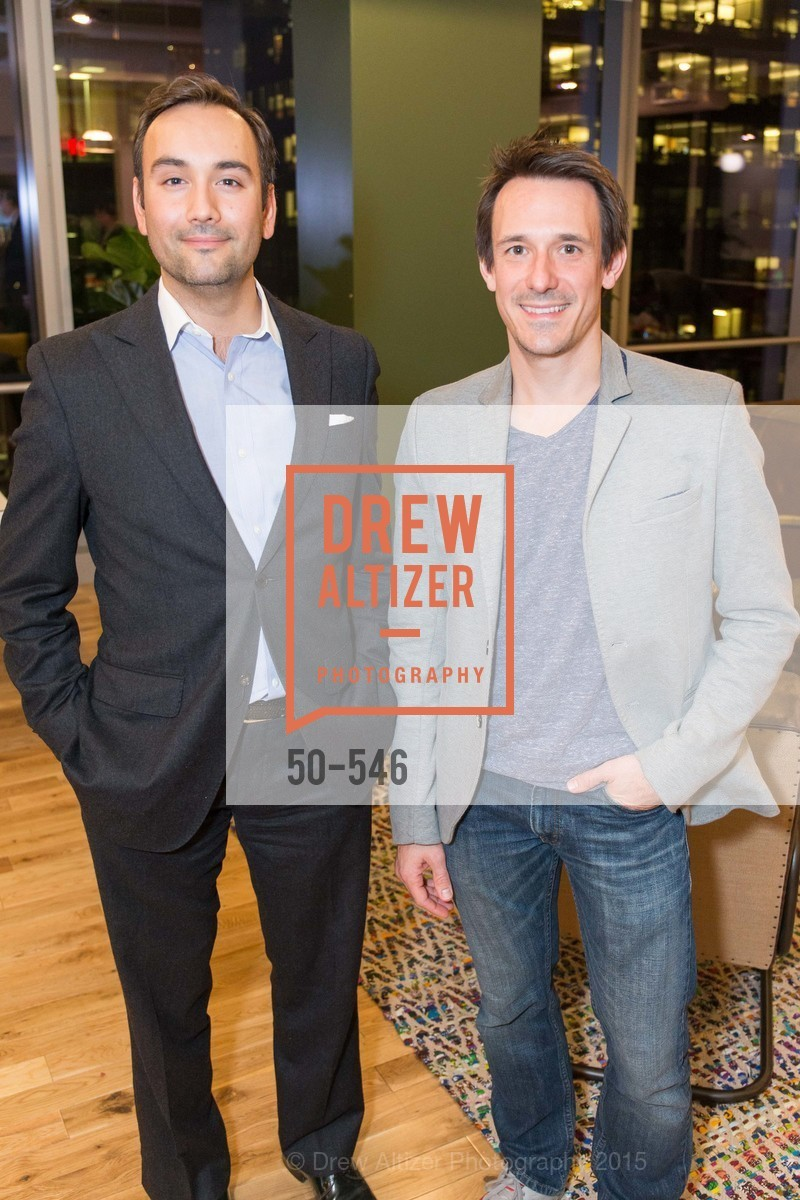 Chris Correa, James Sofranco, San Francisco Ballet ENCORE! Season Preview Party, WeWork. 535 Mission Street, 14th Floor, November 17th, 2015,Drew Altizer, Drew Altizer Photography, full-service event agency, private events, San Francisco photographer, photographer California