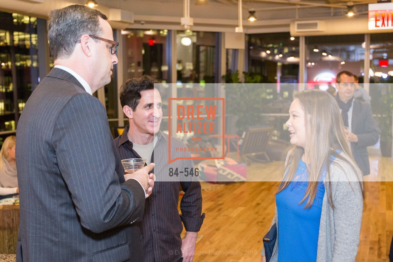 Justin Bank, Adam Taylor, Katherine Sakoda, San Francisco Ballet ENCORE! Season Preview Party, WeWork. 535 Mission Street, 14th Floor, November 17th, 2015,Drew Altizer, Drew Altizer Photography, full-service agency, private events, San Francisco photographer, photographer california