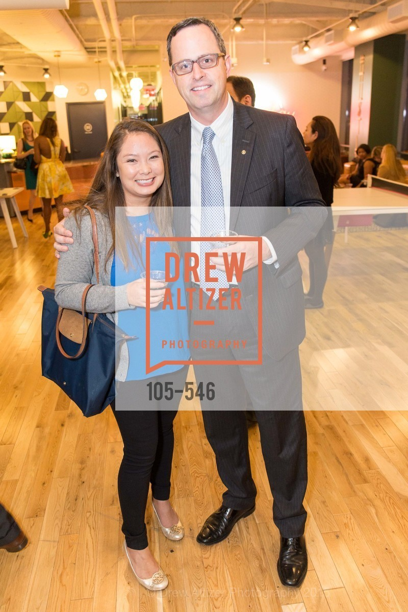 Katherine Sakoda, Justin Bank, San Francisco Ballet ENCORE! Season Preview Party, WeWork. 535 Mission Street, 14th Floor, November 17th, 2015,Drew Altizer, Drew Altizer Photography, full-service agency, private events, San Francisco photographer, photographer california