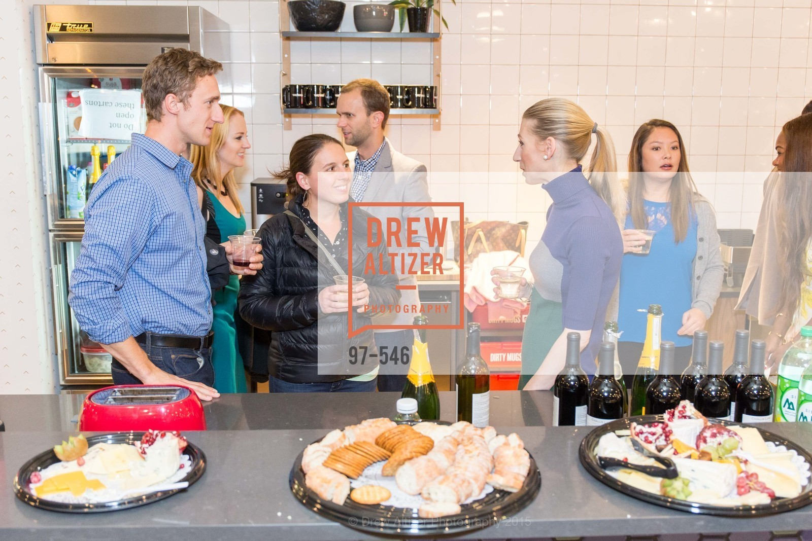 Travis Breznak, Nicole Breznak, Maggie Winterfeldt Clark, San Francisco Ballet ENCORE! Season Preview Party, WeWork. 535 Mission Street, 14th Floor, November 17th, 2015,Drew Altizer, Drew Altizer Photography, full-service agency, private events, San Francisco photographer, photographer california