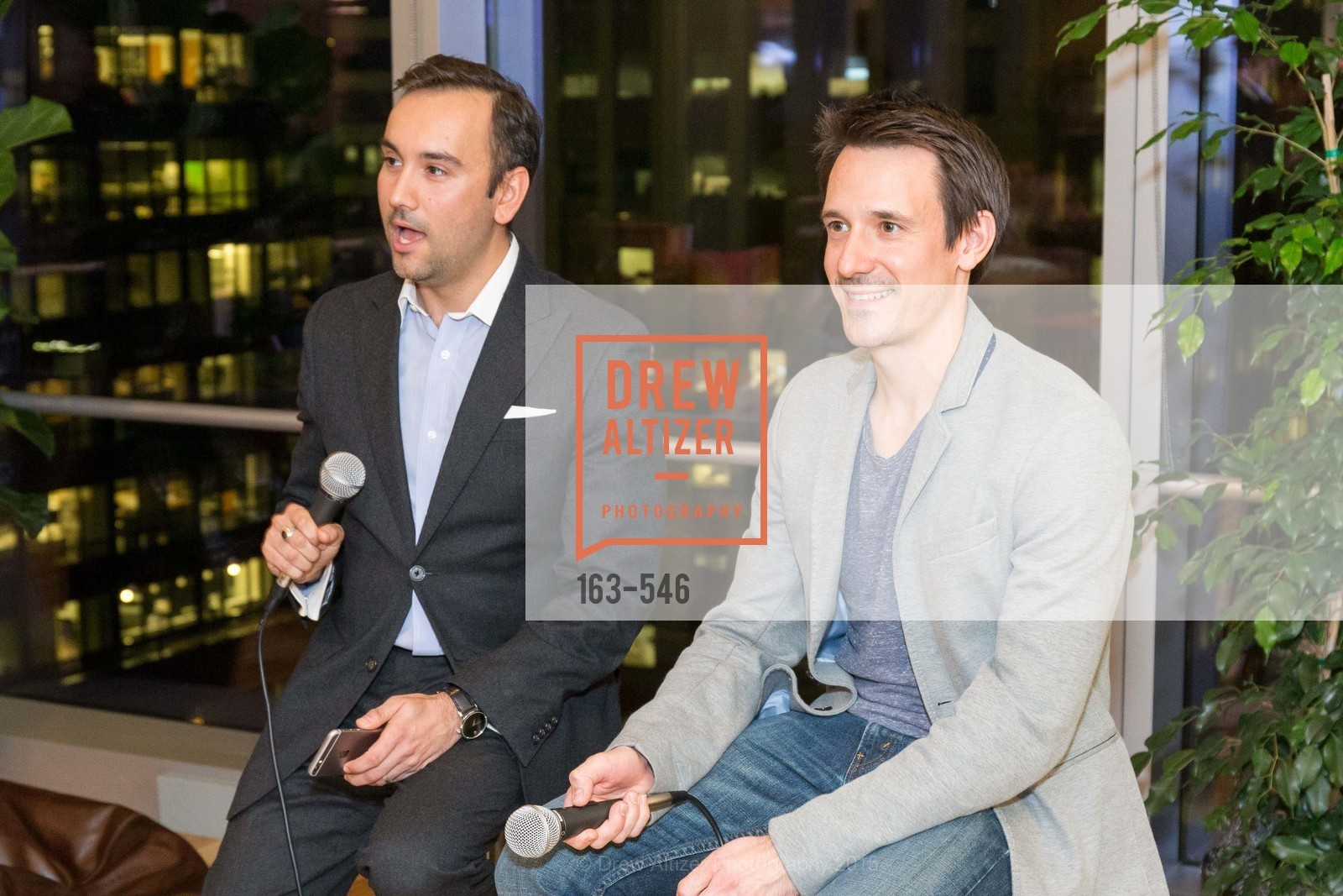 Chris Correa, James Sofranco, San Francisco Ballet ENCORE! Season Preview Party, WeWork. 535 Mission Street, 14th Floor, November 17th, 2015,Drew Altizer, Drew Altizer Photography, full-service agency, private events, San Francisco photographer, photographer california