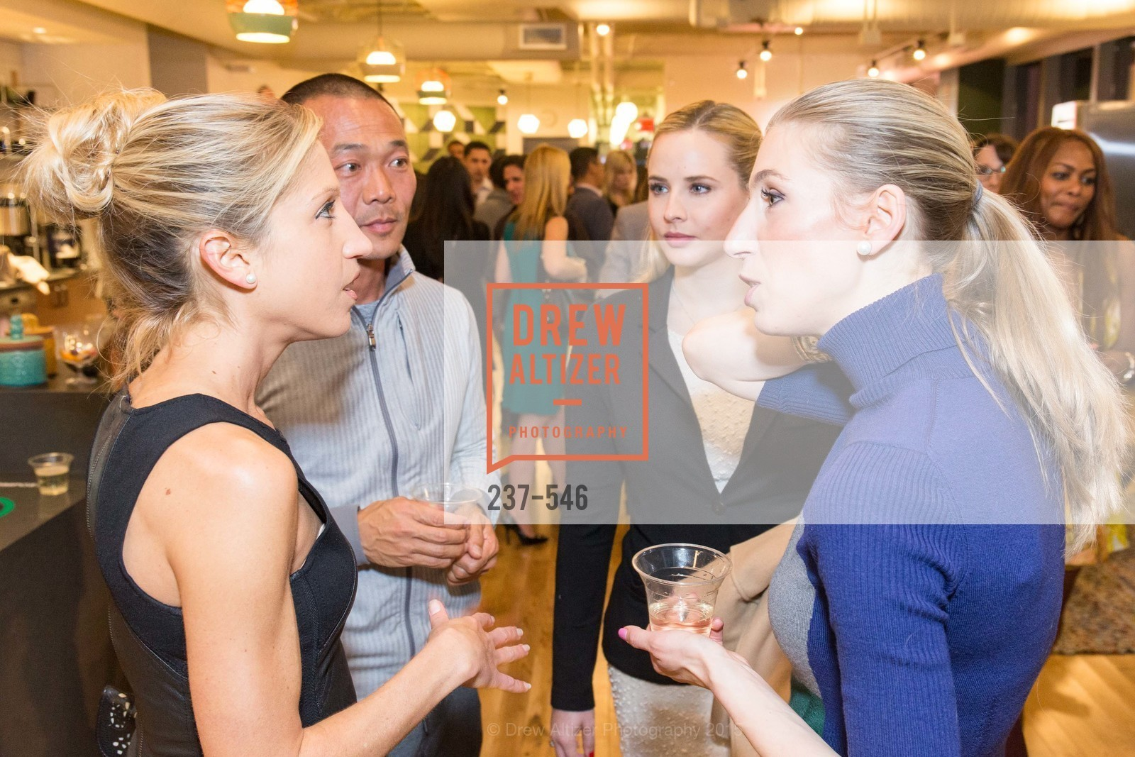 Caroline Jordan, Mark Harada, Elizabeth Sgarrella, April Winterfeldt Clark, San Francisco Ballet ENCORE! Season Preview Party, WeWork. 535 Mission Street, 14th Floor, November 17th, 2015,Drew Altizer, Drew Altizer Photography, full-service agency, private events, San Francisco photographer, photographer california