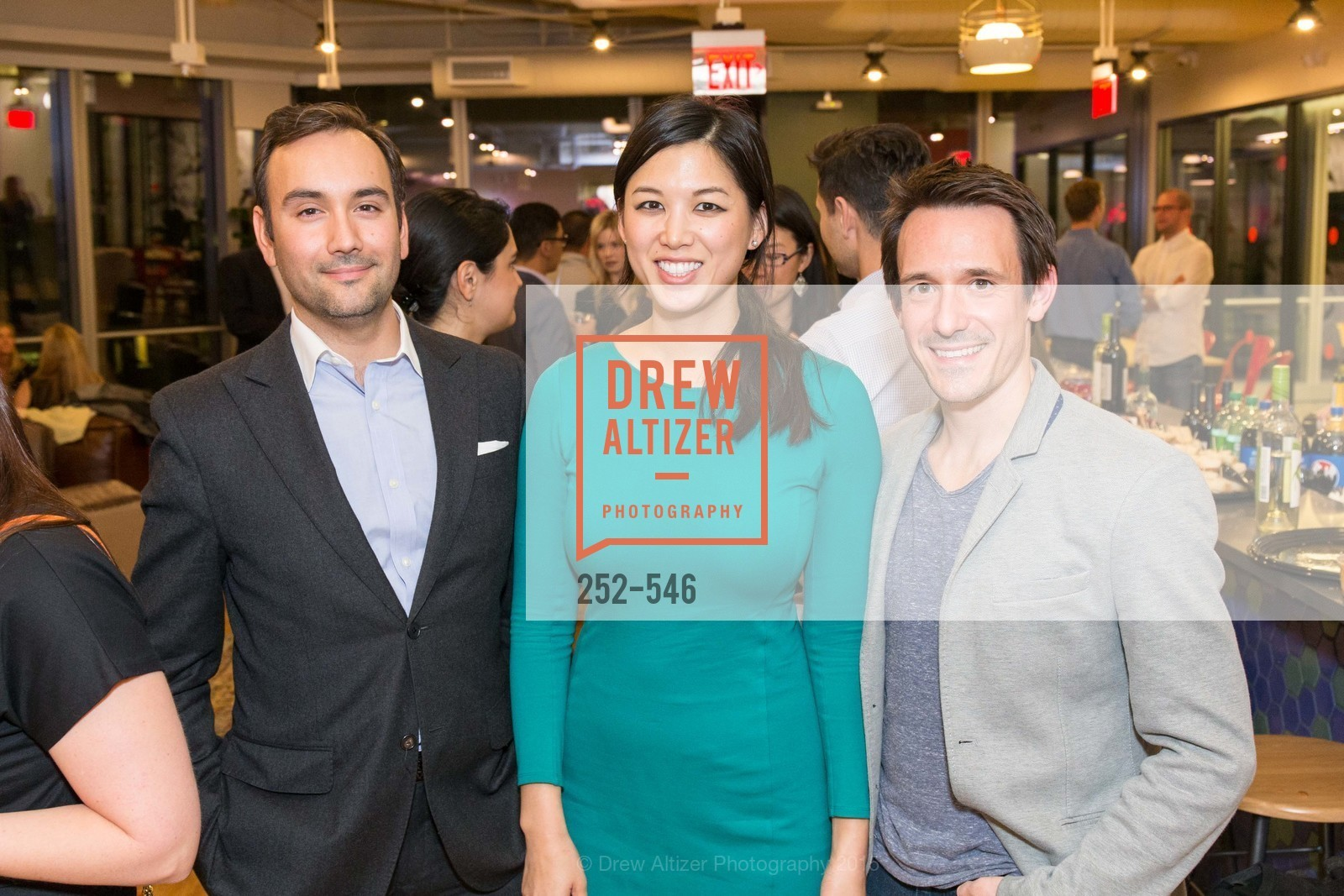 Chris Correa, Emily Hu, James Sofranco, San Francisco Ballet ENCORE! Season Preview Party, WeWork. 535 Mission Street, 14th Floor, November 17th, 2015,Drew Altizer, Drew Altizer Photography, full-service agency, private events, San Francisco photographer, photographer california