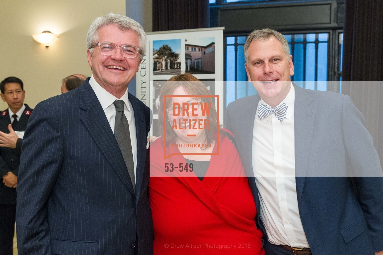 Doug Person, Rachel Fontenot, Ernst Bauer, The Salvation Army's 12th Annual Holiday Luncheon Kettle Kickoff, The Bently Reserve. 301 Battery St, November 18th, 2015,Drew Altizer, Drew Altizer Photography, full-service agency, private events, San Francisco photographer, photographer california