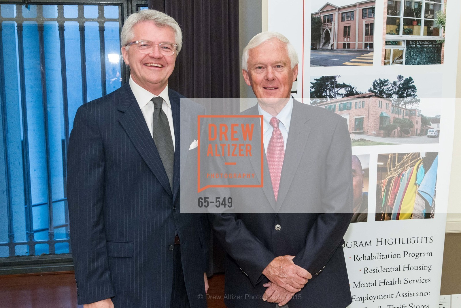 Doug Person, Andrew Reid, The Salvation Army's 12th Annual Holiday Luncheon Kettle Kickoff, The Bently Reserve. 301 Battery St, November 18th, 2015,Drew Altizer, Drew Altizer Photography, full-service agency, private events, San Francisco photographer, photographer california