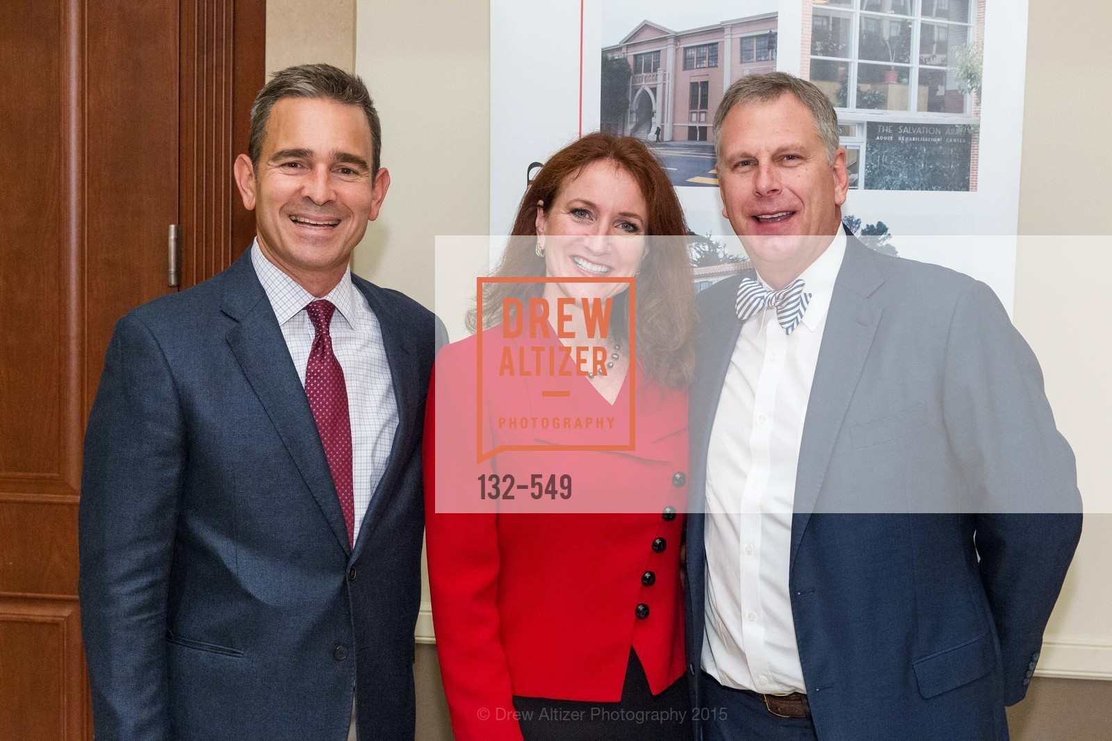 Dirk Gilliard, Melissa Galliani, Ernst Bauer, The Salvation Army's 12th Annual Holiday Luncheon Kettle Kickoff, The Bently Reserve. 301 Battery St, November 18th, 2015,Drew Altizer, Drew Altizer Photography, full-service agency, private events, San Francisco photographer, photographer california