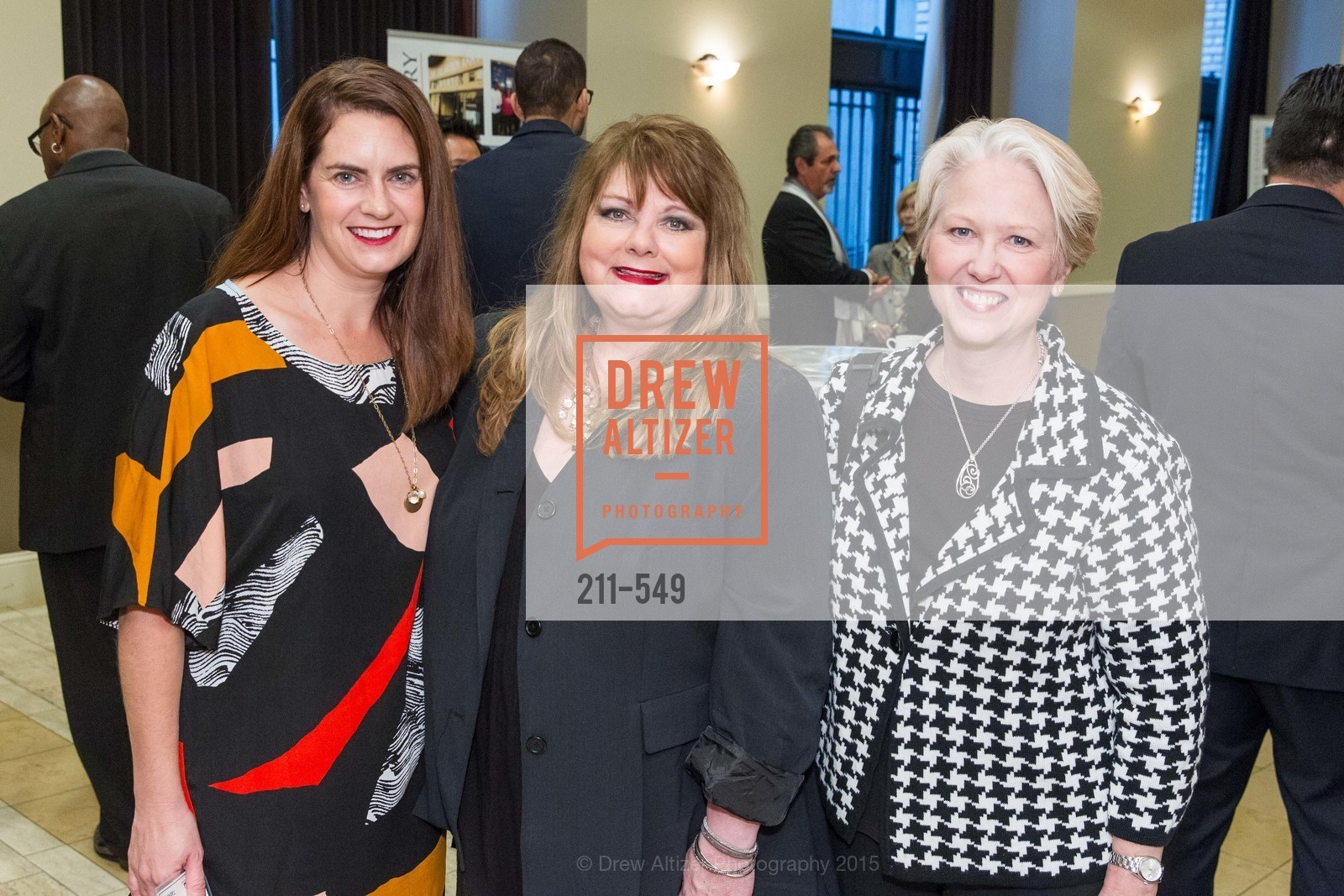 Cherie Slane, June Sargent, Denise Harris, The Salvation Army's 12th Annual Holiday Luncheon Kettle Kickoff, The Bently Reserve. 301 Battery St, November 18th, 2015,Drew Altizer, Drew Altizer Photography, full-service agency, private events, San Francisco photographer, photographer california