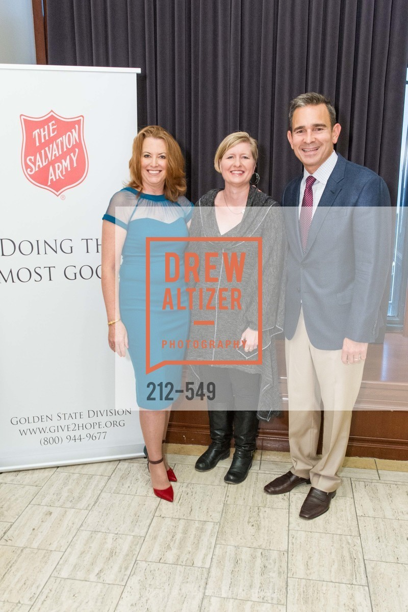 Jeannine Vaughan, Lisa Melsted, Dirk Gilliard, The Salvation Army's 12th Annual Holiday Luncheon Kettle Kickoff, The Bently Reserve. 301 Battery St, November 18th, 2015,Drew Altizer, Drew Altizer Photography, full-service agency, private events, San Francisco photographer, photographer california