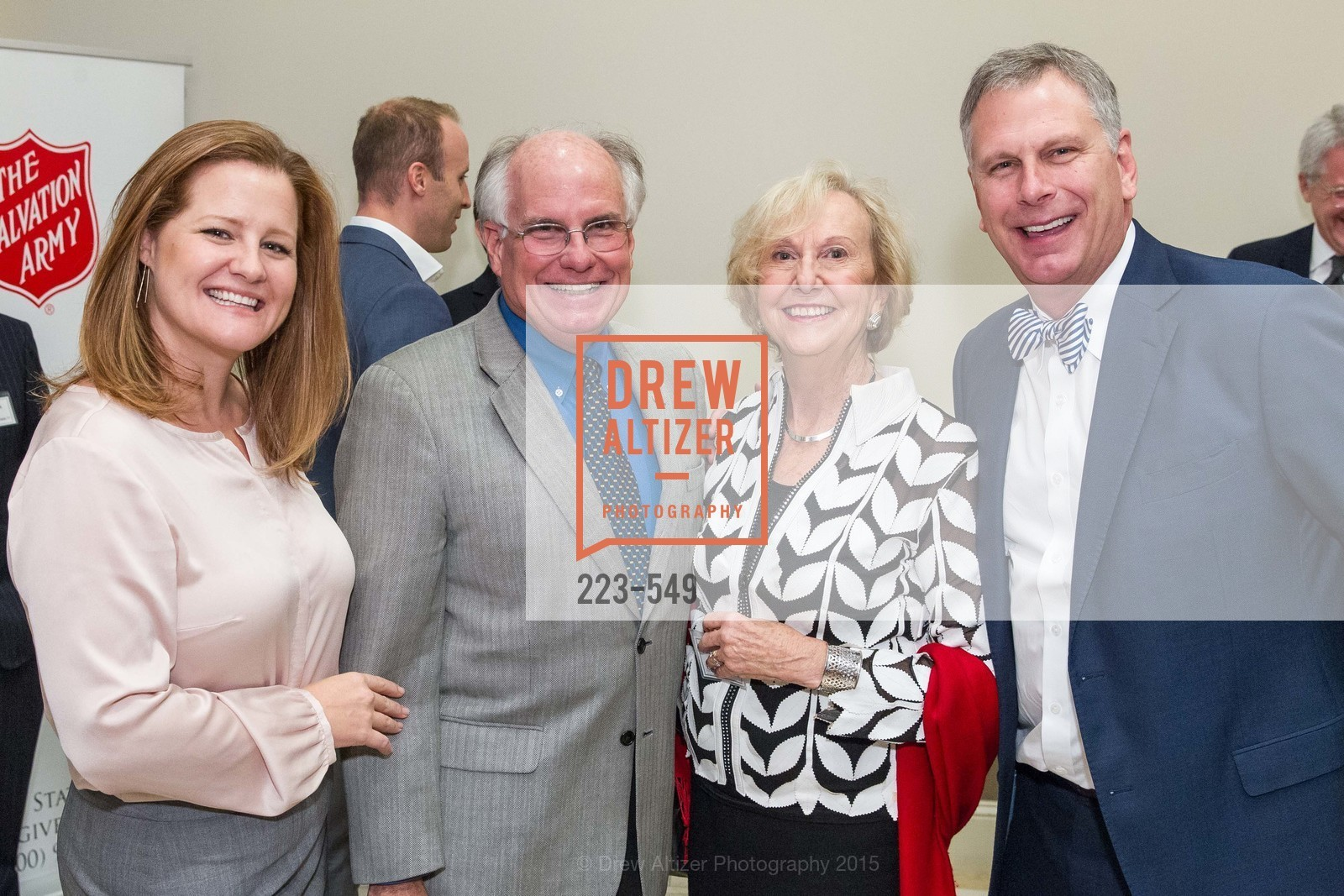 Jaclyn Carpenter, Peter Ratto, Judith Heuser, Ernst Bauer, The Salvation Army's 12th Annual Holiday Luncheon Kettle Kickoff, The Bently Reserve. 301 Battery St, November 18th, 2015,Drew Altizer, Drew Altizer Photography, full-service agency, private events, San Francisco photographer, photographer california