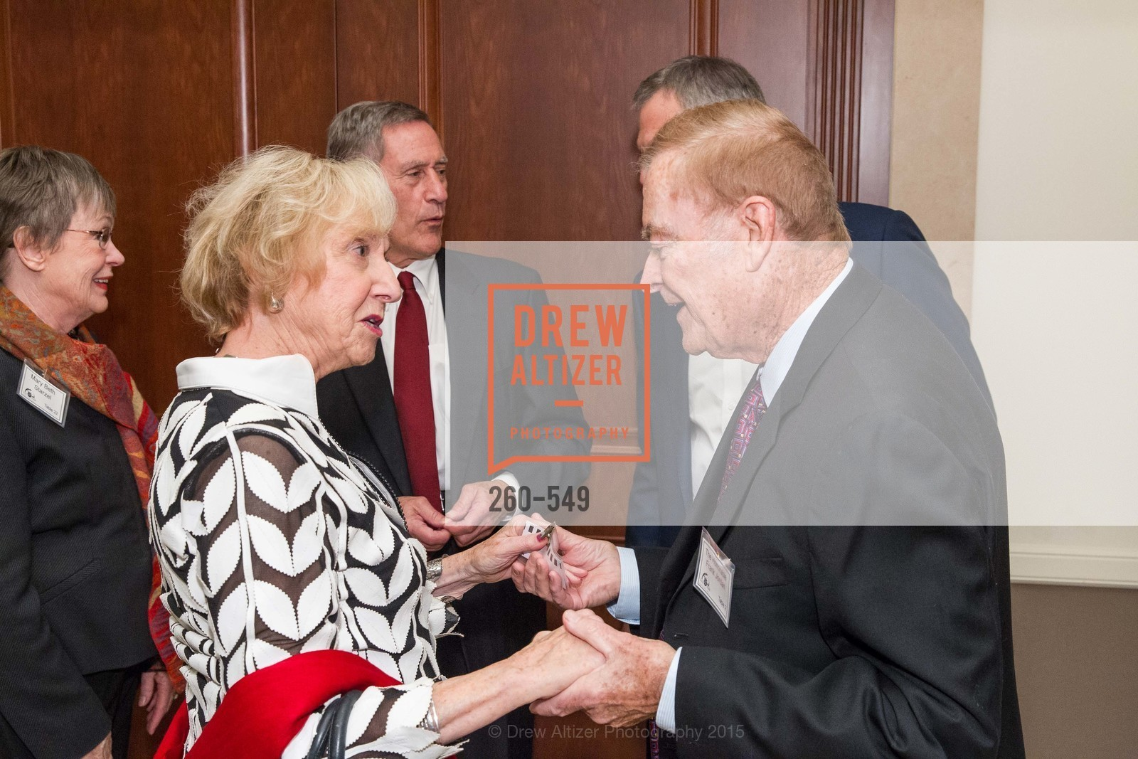 Judith Heuser, Frank Jordan, The Salvation Army's 12th Annual Holiday Luncheon Kettle Kickoff, The Bently Reserve. 301 Battery St, November 18th, 2015,Drew Altizer, Drew Altizer Photography, full-service agency, private events, San Francisco photographer, photographer california