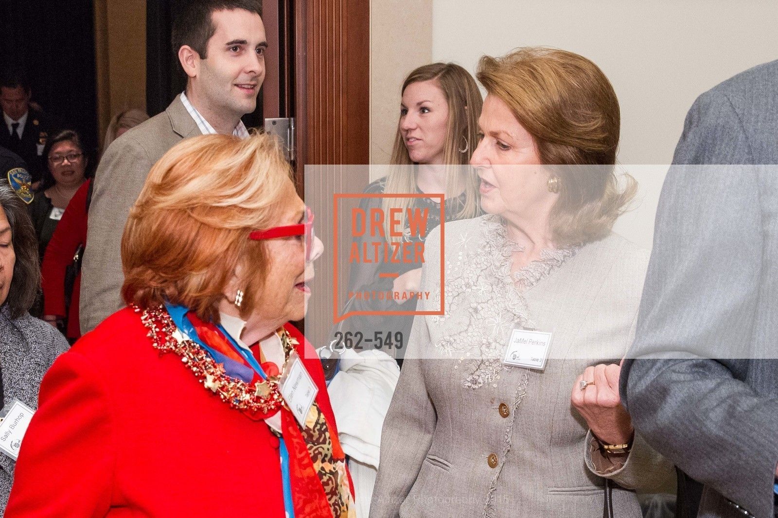 Ellen Newman, JaMel Perkins, The Salvation Army's 12th Annual Holiday Luncheon Kettle Kickoff, The Bently Reserve. 301 Battery St, November 18th, 2015,Drew Altizer, Drew Altizer Photography, full-service agency, private events, San Francisco photographer, photographer california