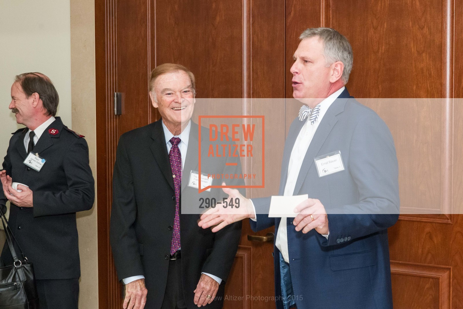 Frank Jordan, Ernst Bauer, The Salvation Army's 12th Annual Holiday Luncheon Kettle Kickoff, The Bently Reserve. 301 Battery St, November 18th, 2015,Drew Altizer, Drew Altizer Photography, full-service agency, private events, San Francisco photographer, photographer california