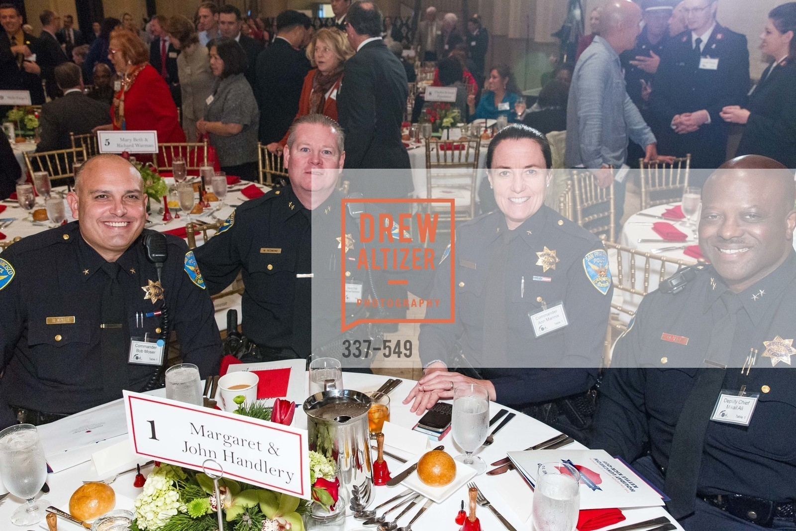 Bob Moser, Mike Redmond, Ann Mannix, Mikail Ali, The Salvation Army's 12th Annual Holiday Luncheon Kettle Kickoff, The Bently Reserve. 301 Battery St, November 18th, 2015,Drew Altizer, Drew Altizer Photography, full-service agency, private events, San Francisco photographer, photographer california