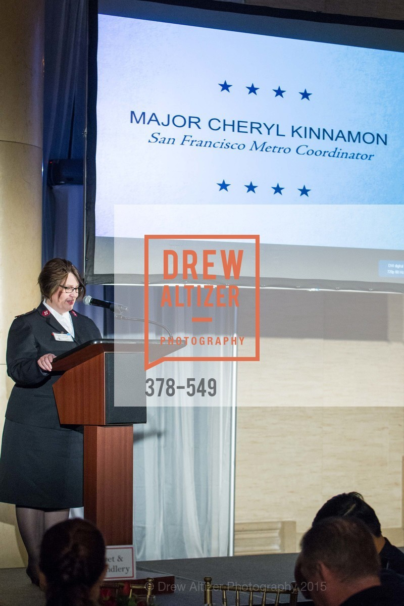 Major Cheryl Kinnamon, The Salvation Army's 12th Annual Holiday Luncheon Kettle Kickoff, The Bently Reserve. 301 Battery St, November 18th, 2015,Drew Altizer, Drew Altizer Photography, full-service agency, private events, San Francisco photographer, photographer california