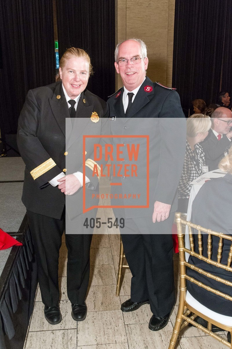 Joanne Hayes-White, Lt. Col. Tim Foley, The Salvation Army's 12th Annual Holiday Luncheon Kettle Kickoff, The Bently Reserve. 301 Battery St, November 18th, 2015,Drew Altizer, Drew Altizer Photography, full-service agency, private events, San Francisco photographer, photographer california