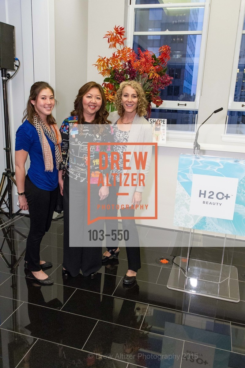 Keeley Nakamoto, Joy Chen, Elizabeth Branagh, H2O+ World Headquarters Opening: A New Beauty for the Bay, 111 Sutter St. 111 Sutter Street, 22nd Floor, November 18th, 2015,Drew Altizer, Drew Altizer Photography, full-service event agency, private events, San Francisco photographer, photographer California
