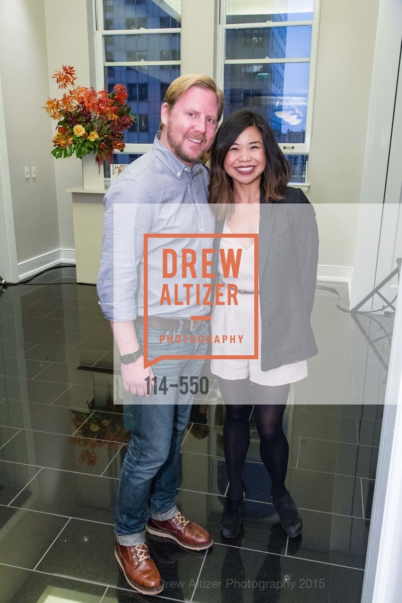 Bjorn Pave, Ali Ng, H2O+ World Headquarters Opening: A New Beauty for the Bay, 111 Sutter St. 111 Sutter Street, 22nd Floor, November 18th, 2015,Drew Altizer, Drew Altizer Photography, full-service agency, private events, San Francisco photographer, photographer california