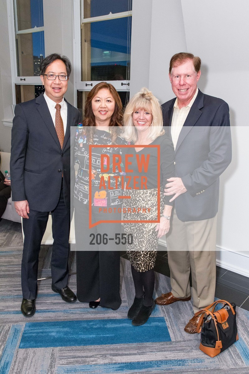 Vernon Chow, Joy Chen, Kathy Fitzpatrick, Brian Fitzpatrick, H2O+ World Headquarters Opening: A New Beauty for the Bay, 111 Sutter St. 111 Sutter Street, 22nd Floor, November 18th, 2015,Drew Altizer, Drew Altizer Photography, full-service agency, private events, San Francisco photographer, photographer california