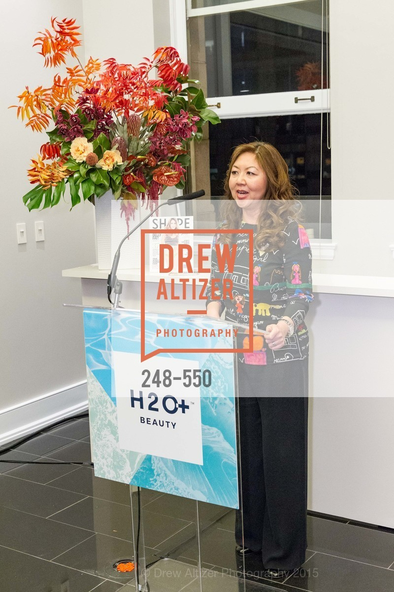 Joy Chen, H2O+ World Headquarters Opening: A New Beauty for the Bay, 111 Sutter St. 111 Sutter Street, 22nd Floor, November 18th, 2015,Drew Altizer, Drew Altizer Photography, full-service agency, private events, San Francisco photographer, photographer california
