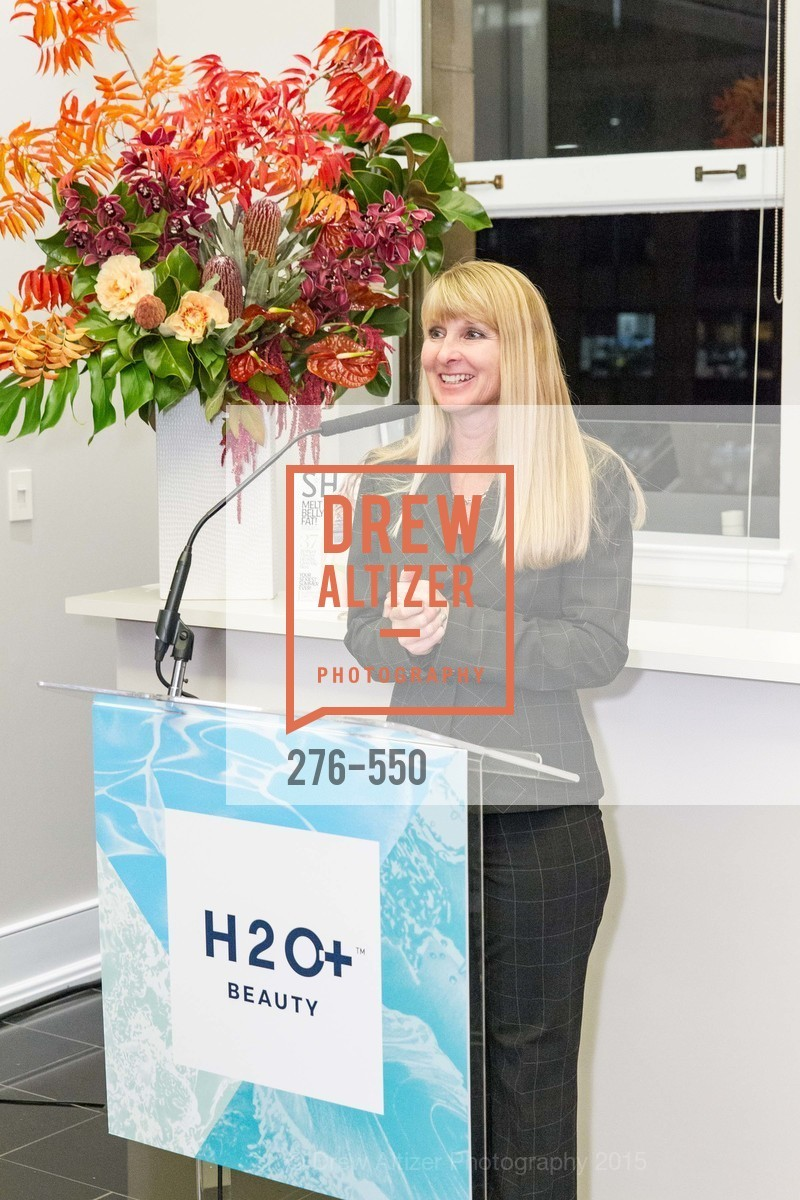 Kim Simons, H2O+ World Headquarters Opening: A New Beauty for the Bay, 111 Sutter St. 111 Sutter Street, 22nd Floor, November 18th, 2015,Drew Altizer, Drew Altizer Photography, full-service agency, private events, San Francisco photographer, photographer california