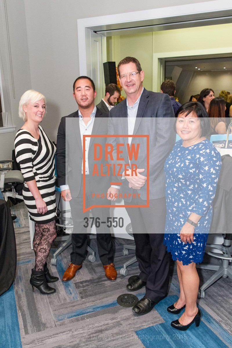 Lauren Brody, David Tower, Bob Schooler, Maria Bautista, H2O+ World Headquarters Opening: A New Beauty for the Bay, 111 Sutter St. 111 Sutter Street, 22nd Floor, November 18th, 2015,Drew Altizer, Drew Altizer Photography, full-service event agency, private events, San Francisco photographer, photographer California