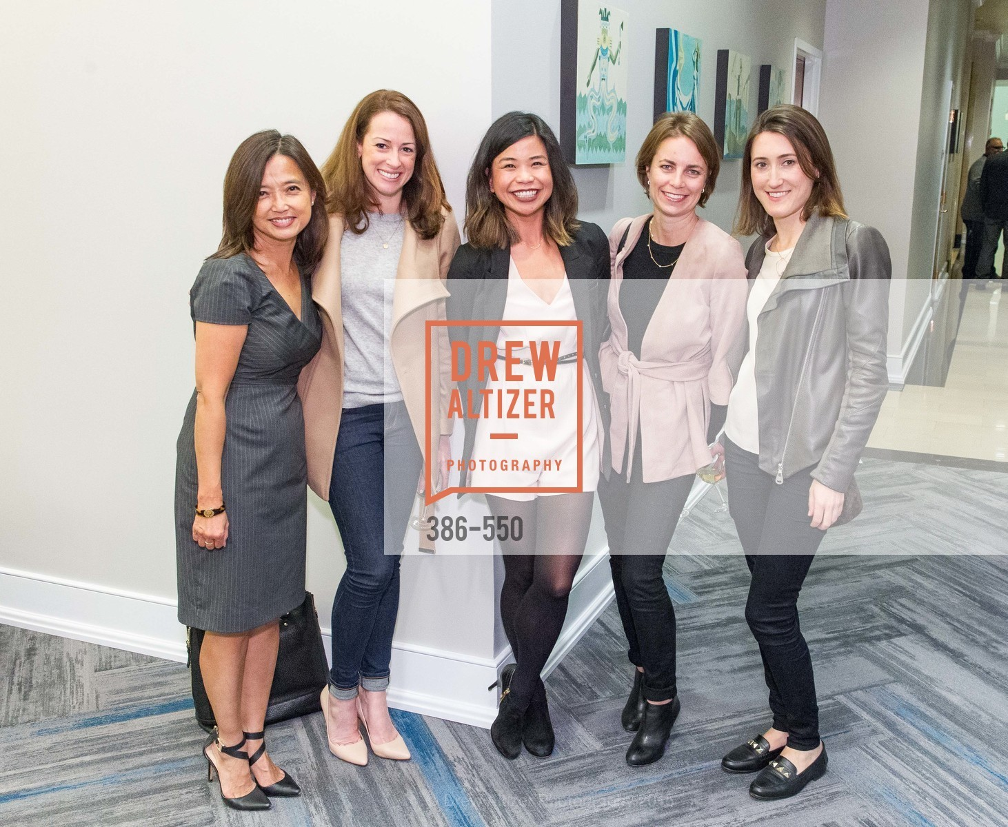 Ruth Tiansay, Lauren Hesse, Ali Ng, Natalie Zakeno, Lindsey Rollin, H2O+ World Headquarters Opening: A New Beauty for the Bay, 111 Sutter St. 111 Sutter Street, 22nd Floor, November 18th, 2015,Drew Altizer, Drew Altizer Photography, full-service agency, private events, San Francisco photographer, photographer california