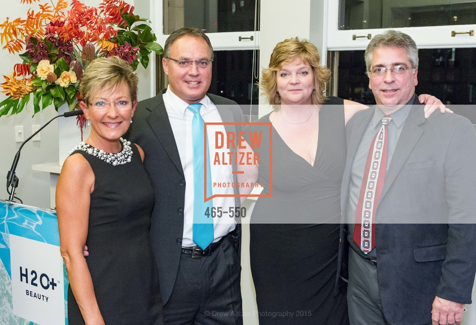 Gina McGlone, Tom McGlone, Christine Broadbent, Eric Landa, H2O+ World Headquarters Opening: A New Beauty for the Bay, 111 Sutter St. 111 Sutter Street, 22nd Floor, November 18th, 2015,Drew Altizer, Drew Altizer Photography, full-service agency, private events, San Francisco photographer, photographer california