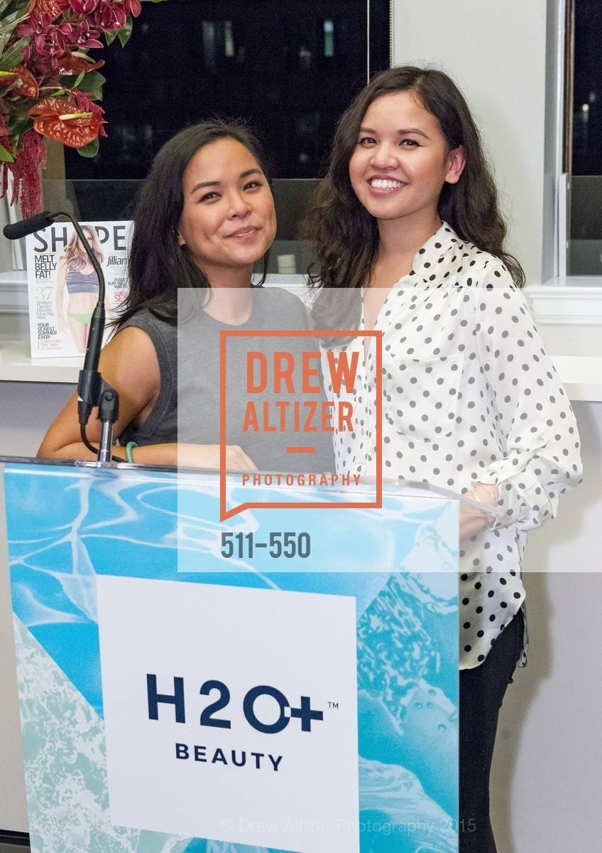 Kat Mendoza, Christy Mendoza, H2O+ World Headquarters Opening: A New Beauty for the Bay, 111 Sutter St. 111 Sutter Street, 22nd Floor, November 18th, 2015,Drew Altizer, Drew Altizer Photography, full-service agency, private events, San Francisco photographer, photographer california