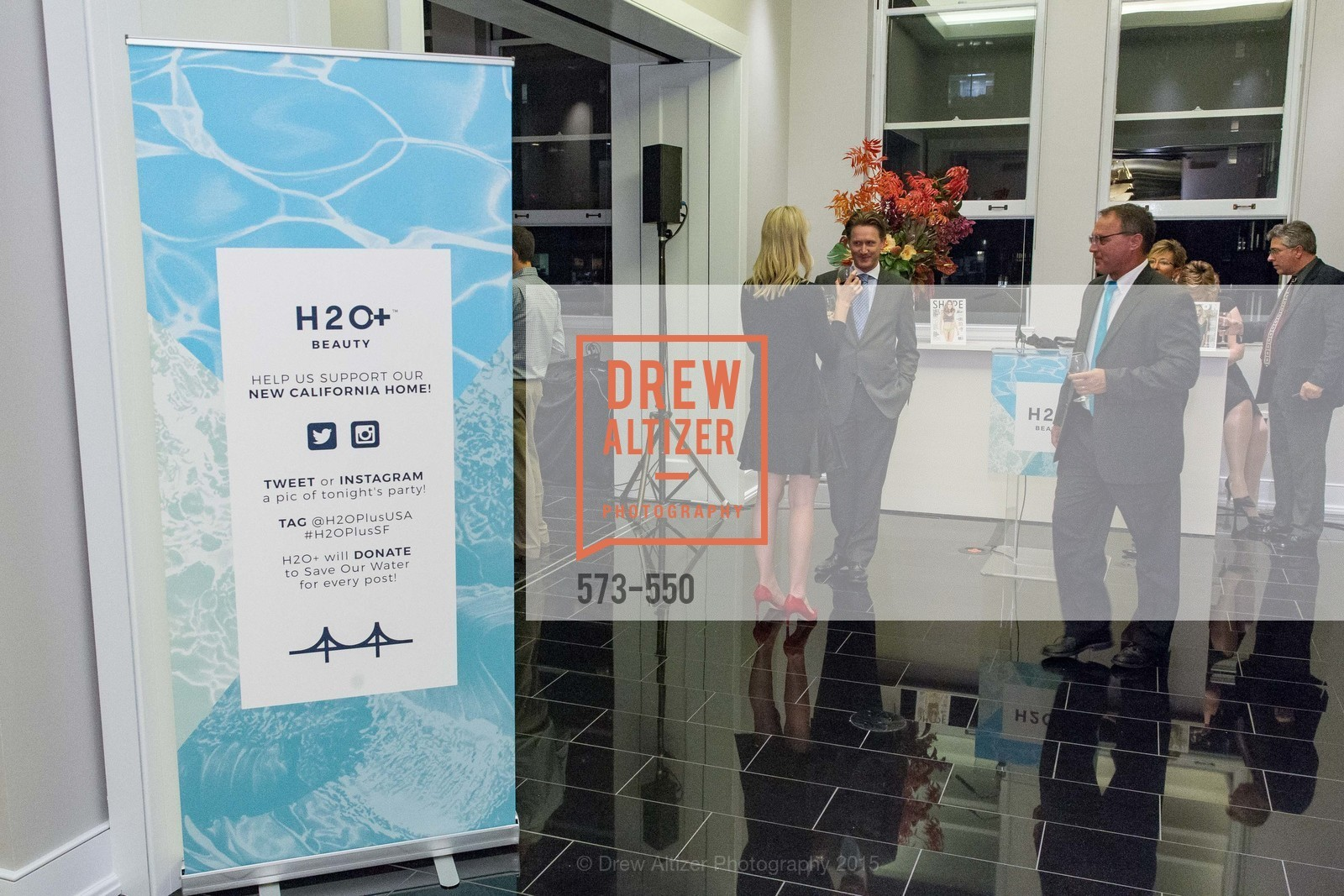 Atmosphere, H2O+ World Headquarters Opening: A New Beauty for the Bay, 111 Sutter St. 111 Sutter Street, 22nd Floor, November 18th, 2015