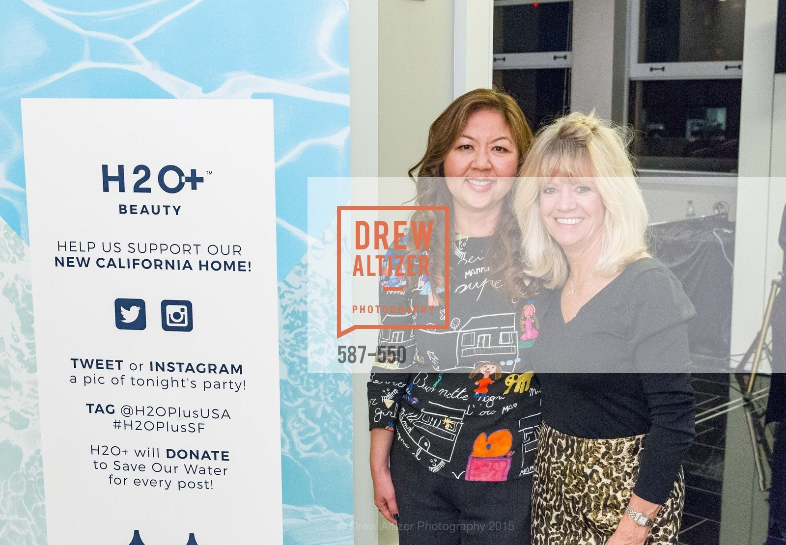 Joy Chen, Kathy Fitzpatrick, H2O+ World Headquarters Opening: A New Beauty for the Bay, 111 Sutter St. 111 Sutter Street, 22nd Floor, November 18th, 2015,Drew Altizer, Drew Altizer Photography, full-service agency, private events, San Francisco photographer, photographer california