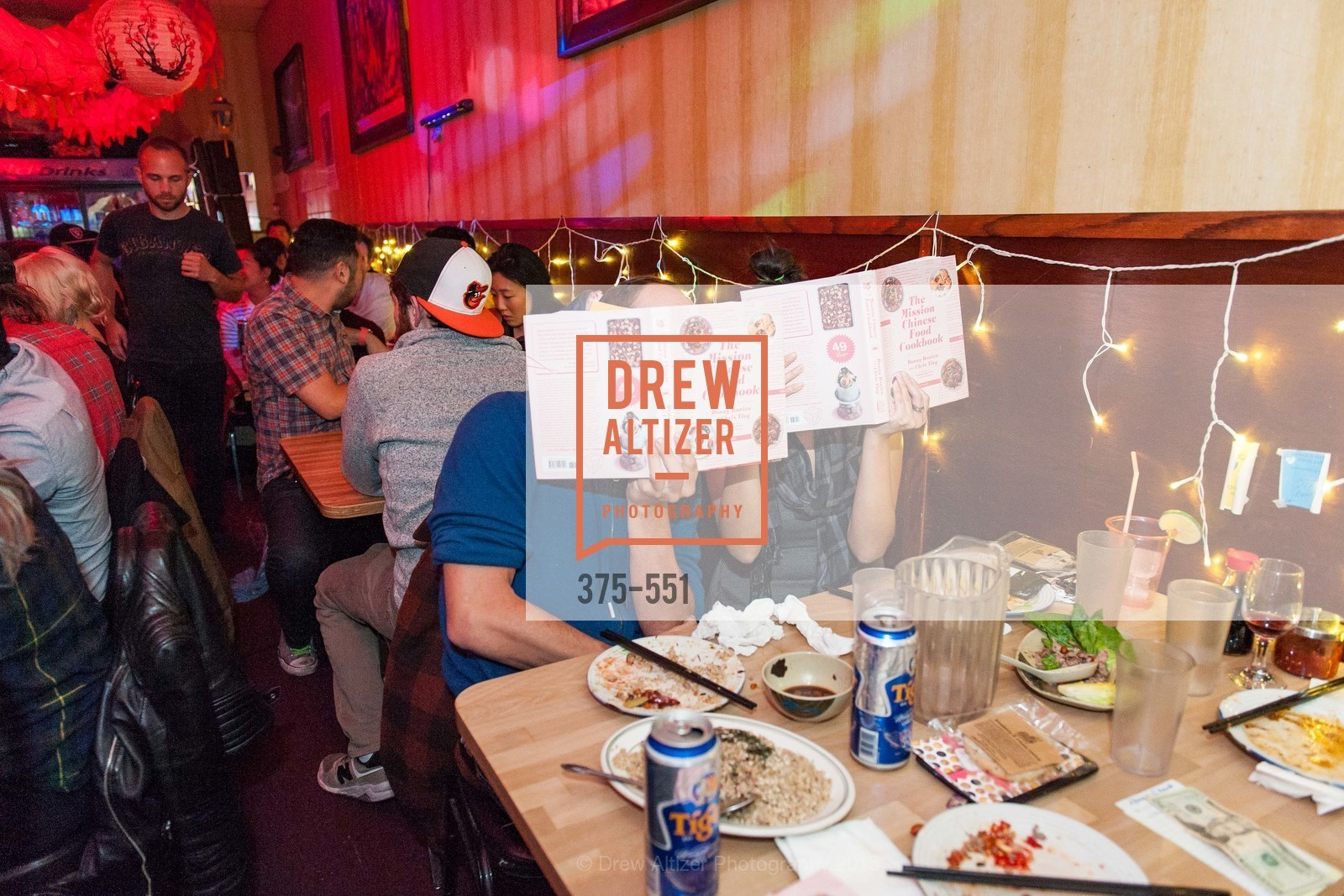 Atmosphere, Mission Chinese Food Cookbook Release Dinner, November 16th, 2015, Photo,Drew Altizer, Drew Altizer Photography, full-service event agency, private events, San Francisco photographer, photographer California
