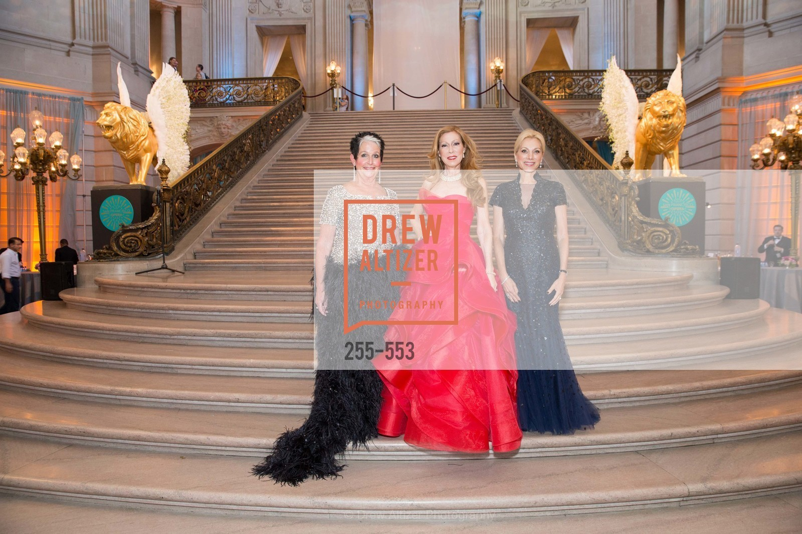 Karen Kubin, Teresa Medearis, Cynthia Schreuder, SAN FRANCISCO OPERA'S 92nd Opera Ball 2014: PASSIONE, Opera House, September 5th, 2014,Drew Altizer, Drew Altizer Photography, full-service event agency, private events, San Francisco photographer, photographer California
