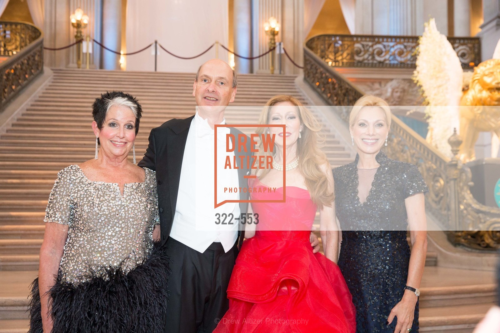 Karen Kubin, Keith Geeslin, Teresa Medearis, Cynthia Schreuder, SAN FRANCISCO OPERA'S 92nd Opera Ball 2014: PASSIONE, Opera House, September 5th, 2014,Drew Altizer, Drew Altizer Photography, full-service agency, private events, San Francisco photographer, photographer california