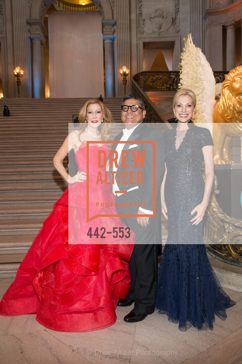 Teresa Medearis, Riccardo Benavides, Cynthia Schreuder, SAN FRANCISCO OPERA'S 92nd Opera Ball 2014: PASSIONE, Opera House, September 5th, 2014,Drew Altizer, Drew Altizer Photography, full-service agency, private events, San Francisco photographer, photographer california