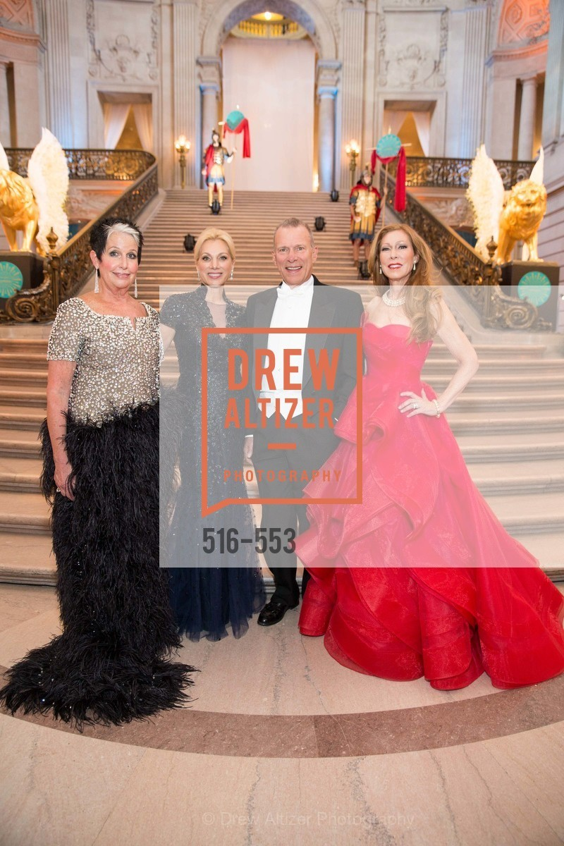 Karen Kubin, Cynthia Schreuder, David Gockley, Teresa Medearis, SAN FRANCISCO OPERA'S 92nd Opera Ball 2014: PASSIONE, Opera House, September 5th, 2014,Drew Altizer, Drew Altizer Photography, full-service agency, private events, San Francisco photographer, photographer california