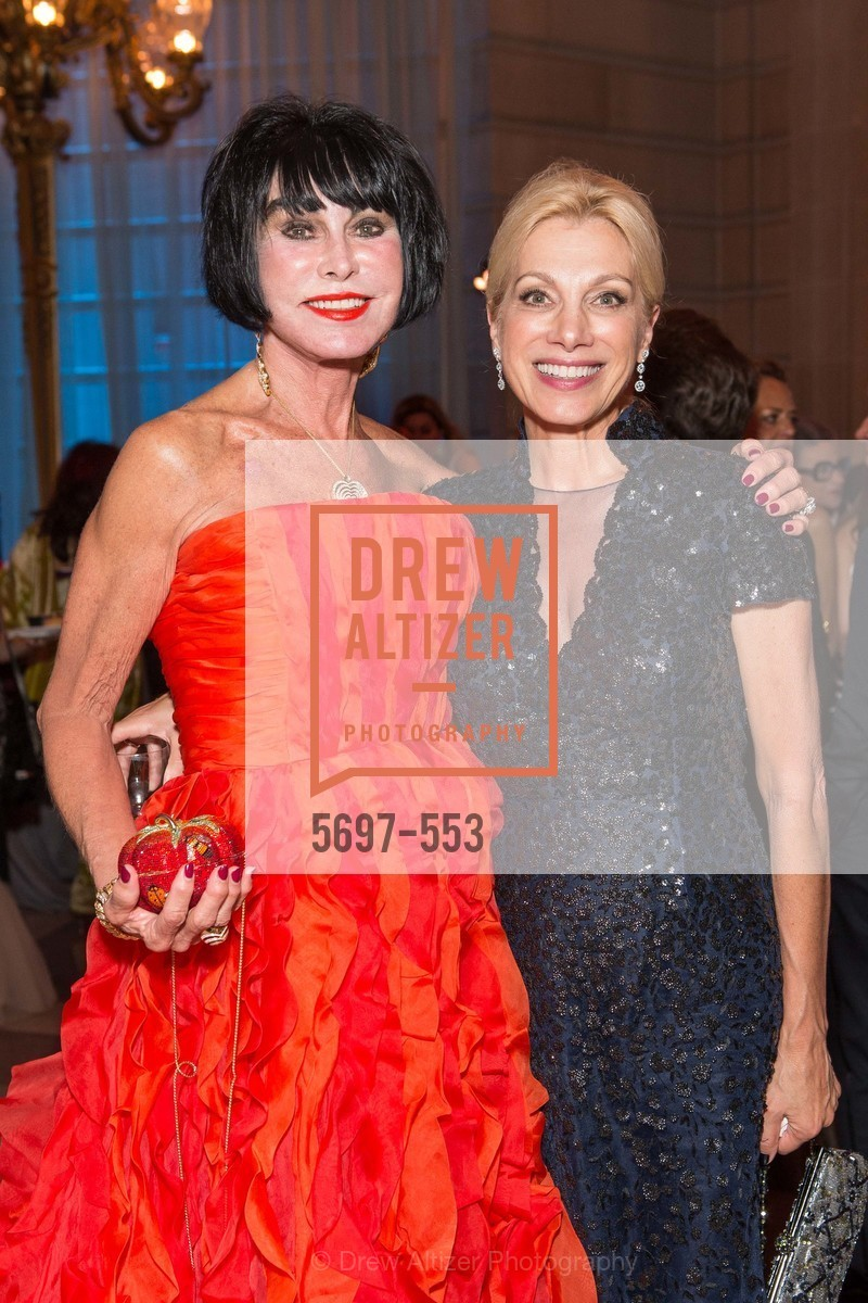 Marilyn Cabak, Cynthia Schreuder, SAN FRANCISCO OPERA'S 92nd Opera Ball 2014: PASSIONE, Opera House, September 5th, 2014,Drew Altizer, Drew Altizer Photography, full-service agency, private events, San Francisco photographer, photographer california