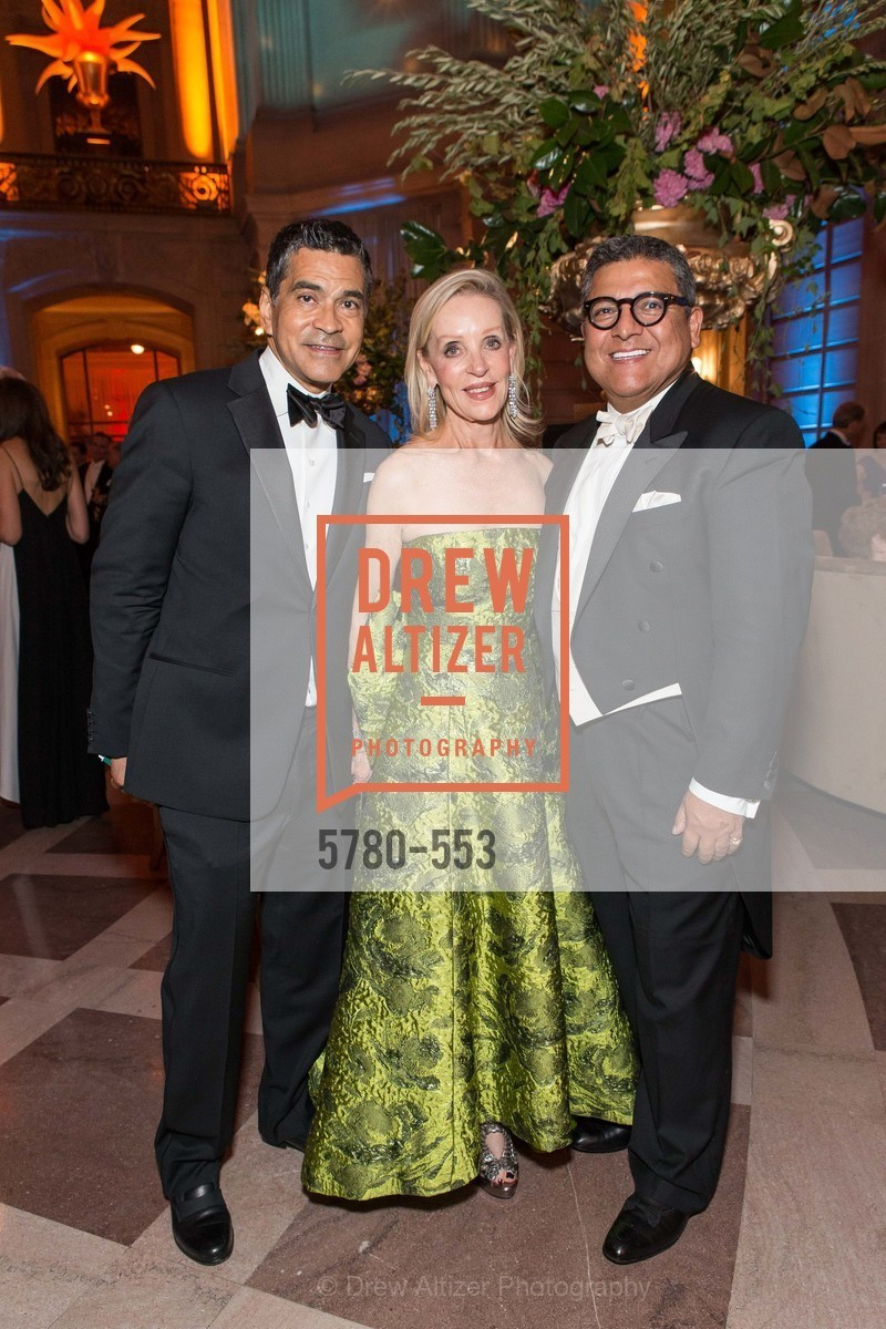 Daniel Diaz, Barbara Brown, Riccardo Benavides, SAN FRANCISCO OPERA'S 92nd Opera Ball 2014: PASSIONE, Opera House, September 5th, 2014,Drew Altizer, Drew Altizer Photography, full-service agency, private events, San Francisco photographer, photographer california