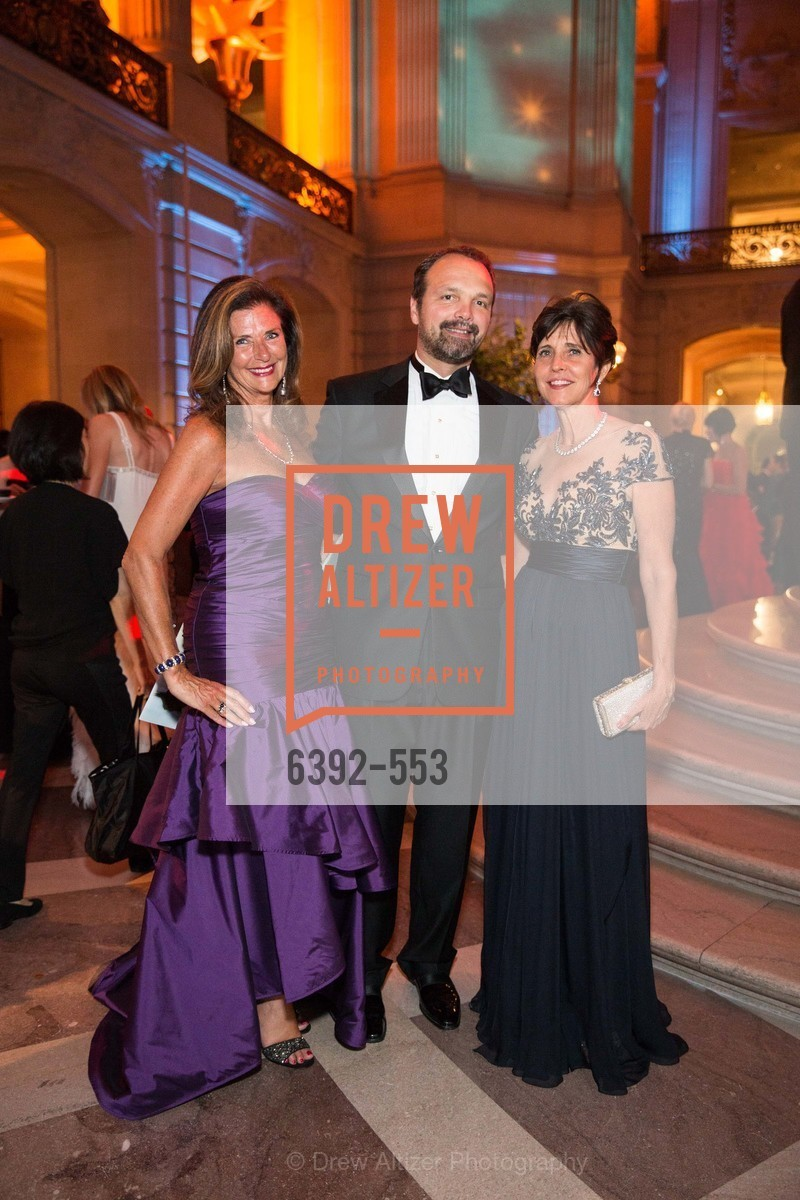 Linda Zider, Guillaume Orlise, Anne Marie Massocca, SAN FRANCISCO OPERA'S 92nd Opera Ball 2014: PASSIONE, Opera House, September 5th, 2014,Drew Altizer, Drew Altizer Photography, full-service agency, private events, San Francisco photographer, photographer california