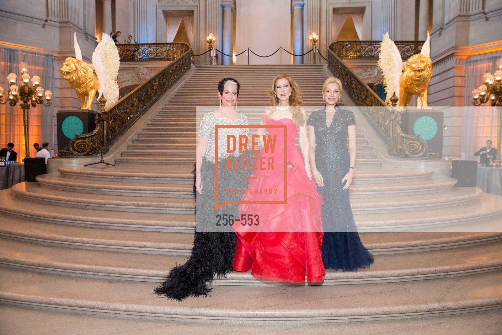 Karen Kubin, Teresa Medearis, Cynthia Schreuder, SAN FRANCISCO OPERA'S 92nd Opera Ball 2014: PASSIONE, Opera House, September 5th, 2014,Drew Altizer, Drew Altizer Photography, full-service agency, private events, San Francisco photographer, photographer california