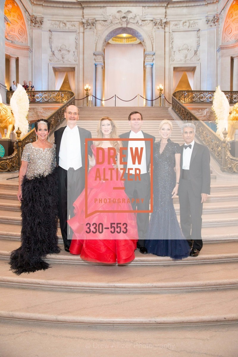 Karen Kubin, Keith Geeslin, Teresa Medearis, Mark Medearis, Cynthis Schreuder, Ovadia Kalev, SAN FRANCISCO OPERA'S 92nd Opera Ball 2014: PASSIONE, Opera House, September 5th, 2014,Drew Altizer, Drew Altizer Photography, full-service agency, private events, San Francisco photographer, photographer california