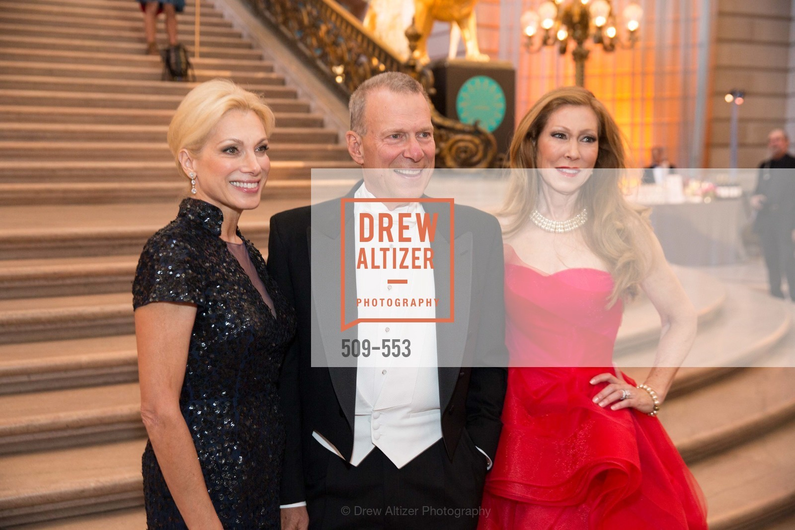 Cynthia Schreuder, David Gockley, Teresa Medearis, SAN FRANCISCO OPERA'S 92nd Opera Ball 2014: PASSIONE, Opera House, September 5th, 2014
