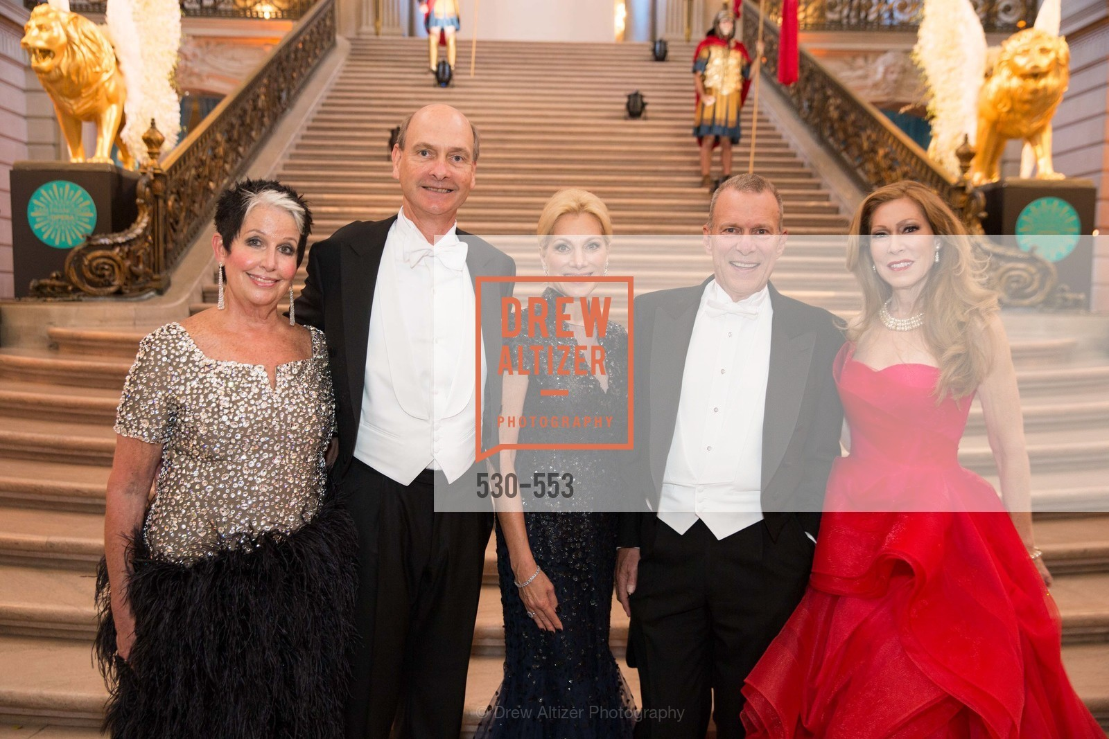 Karen Kubin, Keith Geeslin, Cynthia Schreuder, David Gockley, Teresa Medearis, SAN FRANCISCO OPERA'S 92nd Opera Ball 2014: PASSIONE, Opera House, September 5th, 2014,Drew Altizer, Drew Altizer Photography, full-service agency, private events, San Francisco photographer, photographer california