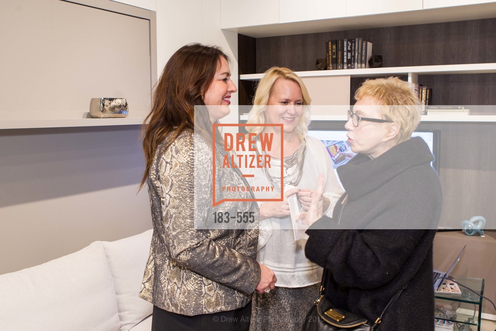 Amelia Hyde, Lisa Blecker, Marilyn Kallins, SFC&G Real Estate Survey Reveal, Resource Furniture, November 19th, 2015,Drew Altizer, Drew Altizer Photography, full-service agency, private events, San Francisco photographer, photographer california