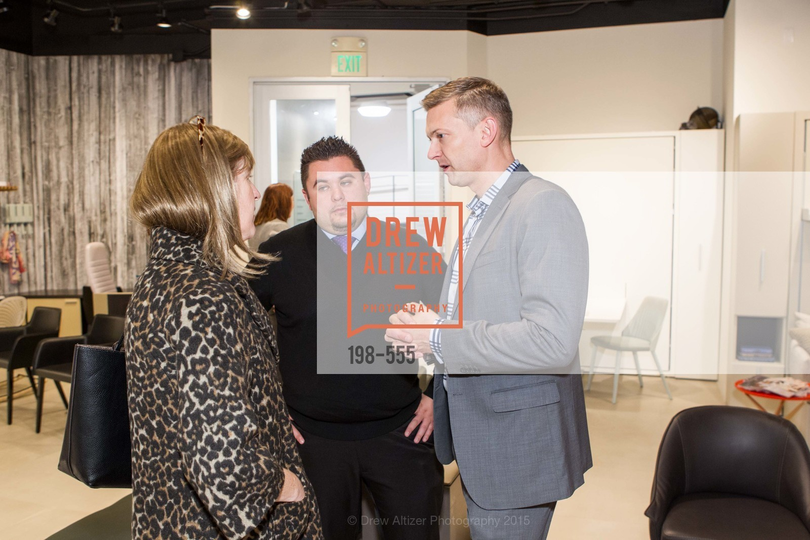 Abby Day-Merchant, Michael Minson, Noah Fierro, SFC&G Real Estate Survey Reveal, Resource Furniture, November 19th, 2015,Drew Altizer, Drew Altizer Photography, full-service agency, private events, San Francisco photographer, photographer california