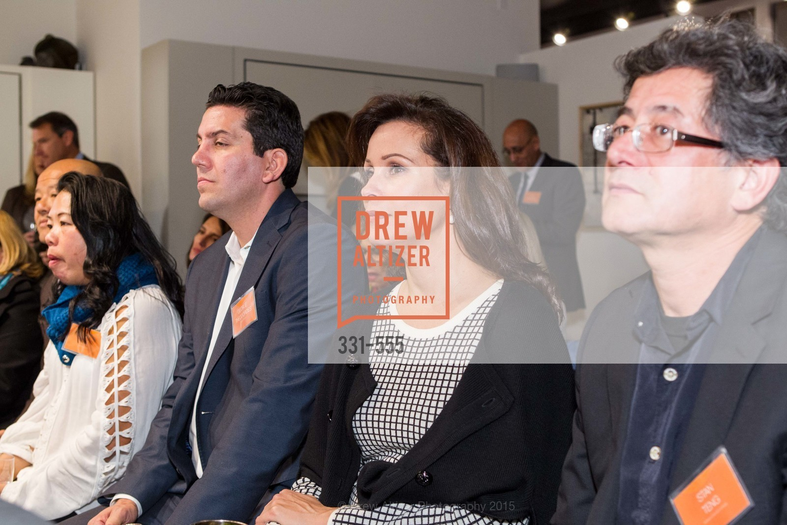 George Theodordes, Linda Bettencourt, Stan Teng, SFC&G Real Estate Survey Reveal, Resource Furniture, November 19th, 2015,Drew Altizer, Drew Altizer Photography, full-service agency, private events, San Francisco photographer, photographer california